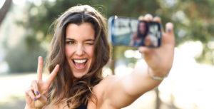 Influencer Taking Selfie